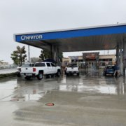 Drunk driver crashed into Seal Beach, CA gas station