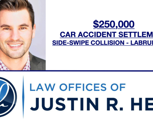 $250,000 Car Accident Settlement - Labrum Tear